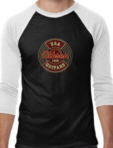 Vintage Gibson Guitars 1959 Men's Baseball ¾ T-Shirt