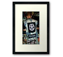 Destroy Authority Framed Print