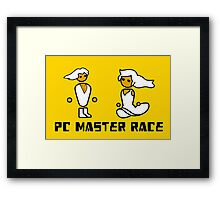 His and Her PCMR - PC Gaming Master Race Framed Print