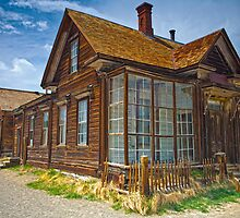 Bodie CA Our House In The Middle Of our Street by photosbyflood