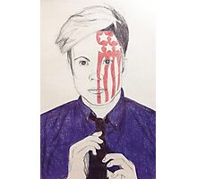 Patrick is an American Beauty+Psycho  Photographic Print