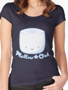 Mellow★Out Women's Fitted Scoop T-Shirt