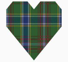 00372 Currie of Arran Clan/Family Tartan  Baby Tee