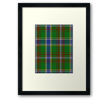 00372 Currie of Arran Clan/Family Tartan  Framed Print