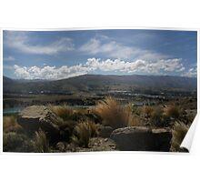 View of Te Anau Poster