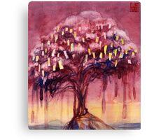 Prayer Tree II Canvas Print