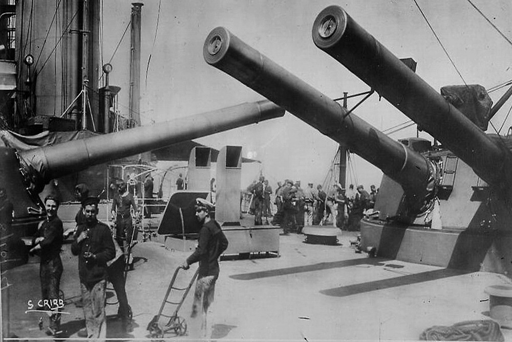 12 Inch Guns by VintageImages