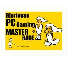 Gloriouse PC Gaming Master Race Art Print