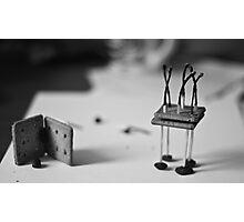 Biscuits, Matches, Raisins, Fire Photographic Print