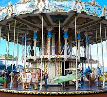 Merrygoround in Arcachon Beach by 29Breizh33