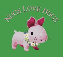 Nugs Love Hugs One Piece - Short Sleeve