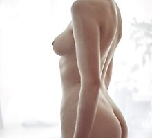 Masquerade - nude art, sensual art, fine art prints, erotic art by AllArtIsErotic