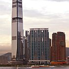 Towers over Kowloon by robigeehk