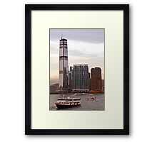 Towers over Kowloon Framed Print
