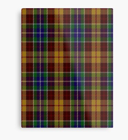 00373 Isle of Arran Tartan  Metal Print