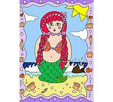 Mermaid doll Photographic Print