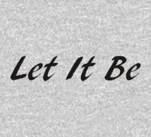 Let It Be  by nyah14