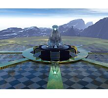 The Temple Of Tomorrow Photographic Print