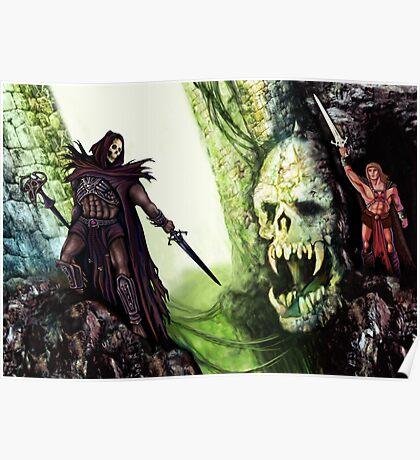 The Battle for Castle Grayskull Poster