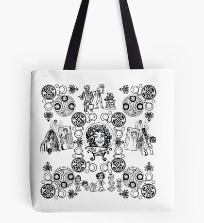 Haunted Who Tote Bag