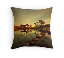 Knapps Loch Throw Pillow