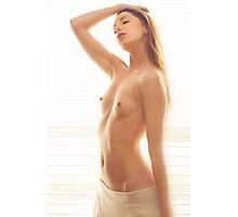 Eros Embrace - erotic nude girl calm love awesome cute pretty Photographic Print