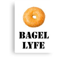 Bagel Lyfe Canvas Print