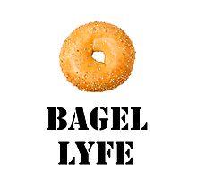 Bagel Lyfe Photographic Print