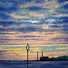 Cockenzie Sunrise by Paul Mudie