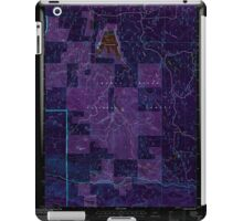 USGS Topo Map Oregon Willow Lake 282109 1997 24000 Inverted iPad Case/Skin
