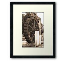 Roda da Agua - Orizona Framed Print
