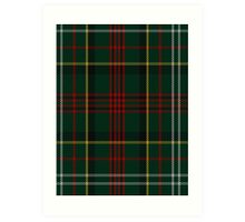 00376 Royal Army of Oman Tartan  Art Print