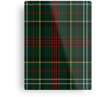 00376 Royal Army of Oman Tartan  Metal Print
