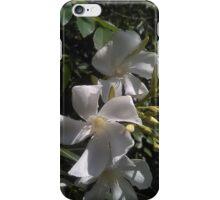 White Swirls iPhone Case/Skin