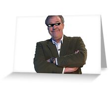 Jeremy Clarkson Deal with It Greeting Card
