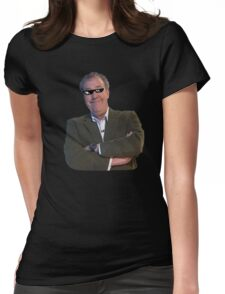 Jeremy Clarkson Deal with It Womens Fitted T-Shirt