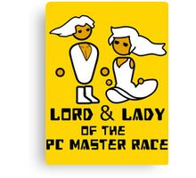 Lord and Lady of the Gloriouse PC Gaming Master Race Canvas Print
