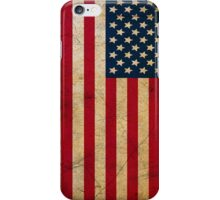 Vintage Grunge American Flag iPhone Case/Skin