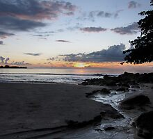 Sunset Creek - Tamarin Bay Mauritius by Mark Whitehouse