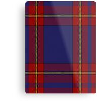 00377 Salvation Army Dress Tartan  Metal Print