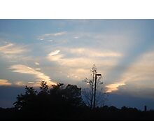 A Late sky Photographic Print