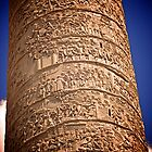 Trajan's Column, Rome by Lisa Hafey
