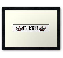 8 Bit Gamer. Framed Print