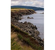 Cliffs of Cape Breton Island Photographic Print