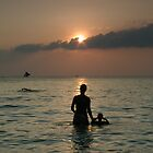 Sunset in Boracay by robigeehk