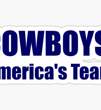 Cowboys: America's Team Sticker