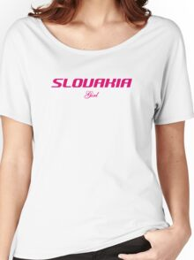 SLOVAKIA GIRL Women's Relaxed Fit T-Shirt