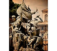 Sculpture, National Monument to Victor Emmanuel II Photographic Print