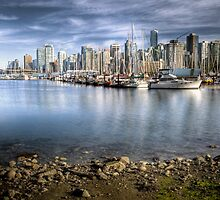 Vancouver Skyline from Stanley Park by rgstrachan