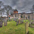 Tythby Church by geoff curtis